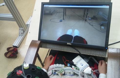 下肢運動リハビリシステム