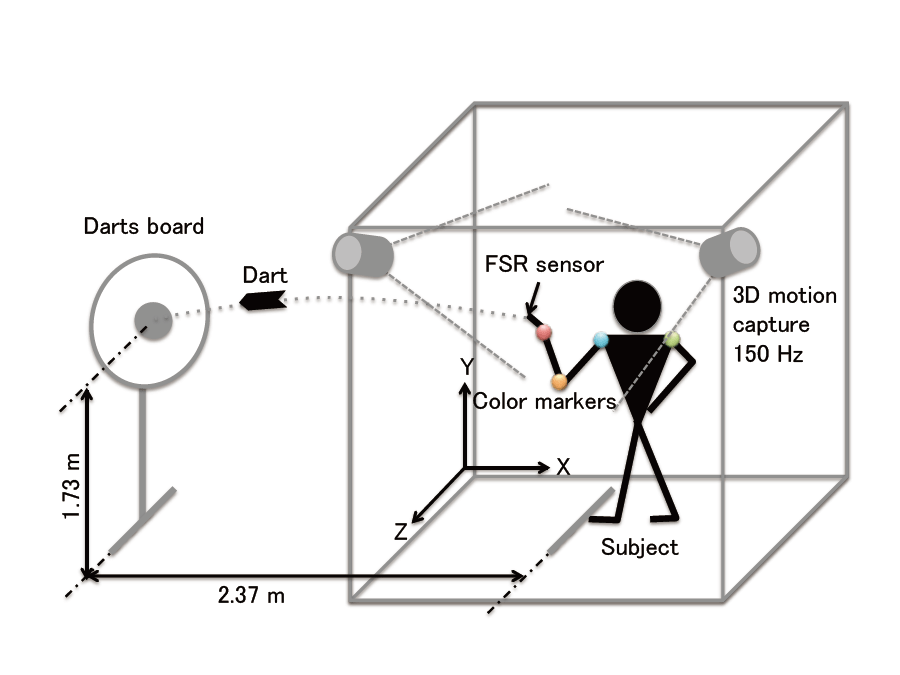 Training System for Darts Throwing